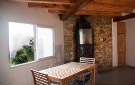 Salle petit déjeuner avec vue sur mer