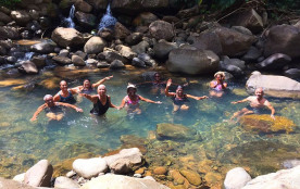 Bain de rivière à Ti Bouboul