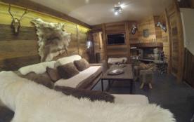 Appartement charme de 110 m² dans un chalet au pied des pistes de Val Thorens