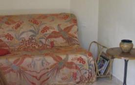 Séjour angle avec canapé-lit