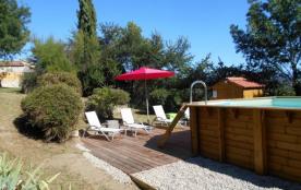 Le Mas La Glycine, Très beau gîte en pierre  3*** avec piscine privée en Ardèche du sud, 6/10 personnes - Berrias-et-...