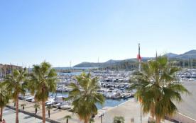 Appartement 2 pièces de 35 m² environ pour 6 personnes situé à 150 m de la mer, sur le Port de pl...