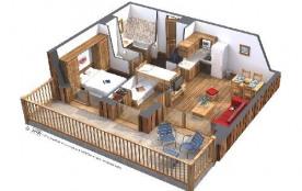 Résidence Koh-I-Nor - Appartement 2 pièces + cabine 4 personnes 40 m2