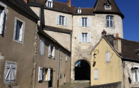 Photo Gîte de La Porte Saint Martin Châteauroux rue descente de ville