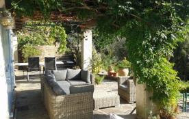 Charmante villa provençale avec belle vue sur la mer dans la colline du Rayol avec terrasses et p...