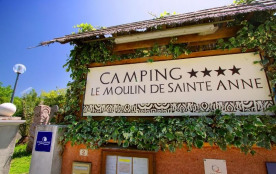 Camping Sites et Paysages Le Moulin de Sainte Anne, 43 emplacements, 17 locatifs