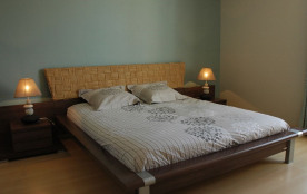 Chambre 2 avec terrasse - lit 180 cm