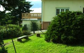 Aux souvenirs d'Antan,Maison avec terrasse ,entourée de verdure et de forets,vue sans partage sur le  Rocher de DABO,