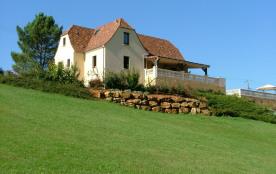 Maison coté nord vue du jardin