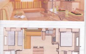 le plan du mobile-home