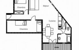 Appartement 3 pièces 6 personnes (B8)