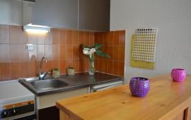 Appartement 2 pièces avec cabine de 39 m² environ pour 6 personnes situé à 400 m de la plage, dan...