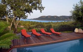 villa piscine vue exceptionnelle mer