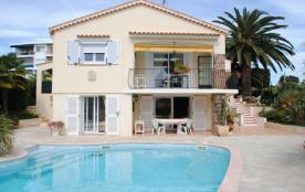Location bas de villa avec piscine privée
