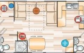 Plan du mobil-home