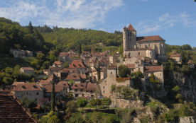 Saint Cirq Lapopie, 4km du Mas de Redoulès