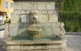 Fontaine dans la Résidence