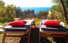 Vue sur mer et jardin privatif