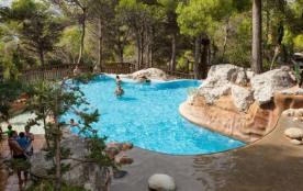 Camping Castell Montgri 4* - MOBILHOME 6 personnes - 2 chambres, Ambre + Clim (entre 0 et 5 ans) - 4 adultes max