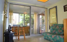 Appartement 3 pièces de 40 m² environ 6 personnes située à 400 m de la plage, dans un quartier ré...