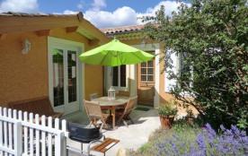 Gîtes de France - Gîte de plain pied aménagé à l'arrière de notre habitation, accès et terrasse p...