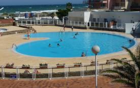 DERNIERES MINUTES  du 15 au 22 JUILLET 2017 LIBRE Studio bord de mer et piscine : à proximité d'Espagne.