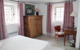 Chambre Magenta - lit 160x200