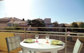 Narbonne Plage (11) - Quartier du Centre - Résidence Les Cigalines. Appartement 3 pièces - 33 m² ...