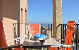 Saint Pierre la Mer (11) - Quartier de la Vigie - Résidence de la Méditerranée. Appartement 2 piè...