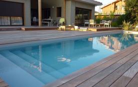 Villa avec piscine entre Bassin et Océan