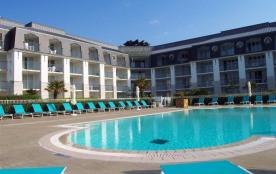 Appartement T2 dans résidence située directement sur la plage de Tréboul-Douarnenez à proximité i...