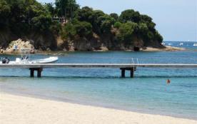 la plage de Porticcio