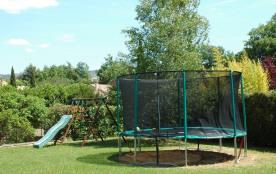 Structure de jeux + trampoline (4.30m de diamètre)