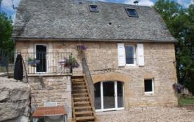 Confortable gîte de caractère en Aveyron - 4* classement préfectoral - Saint-Martin-de-Lenne