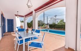 Maison pour 4 personnes à Cala Pí