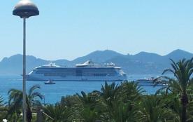 Appartement standing croisette terrasses vue mer 2 min) à pieds de la plage et Croisette