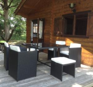 location vacances chalet Vensac