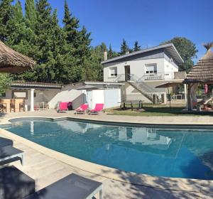 location vacances villa Sauzet