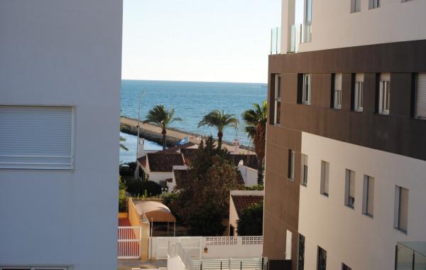 Loc. Vacances à Santa Pola (Alicante). Plage à 100m. Terrasse Vue Sur Mer.  5 Pers. Chqs ANCV.