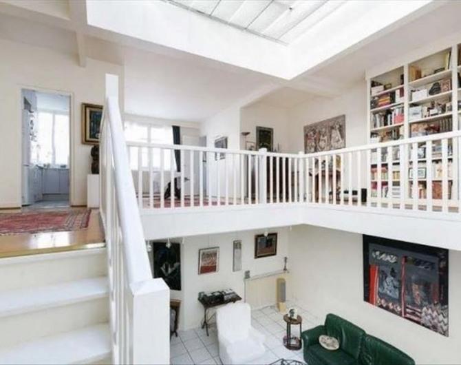 Vente loft atelier surface de luxe paris 14ème 75014 france