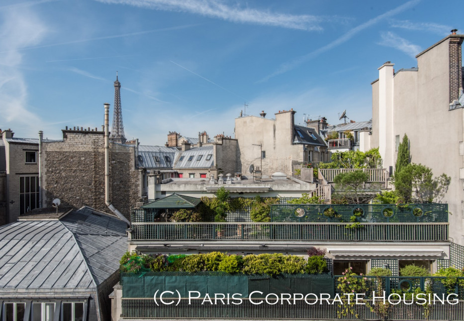 Location Duplex de luxe dans le quartier Chaillot