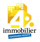 logo 4% immobilier