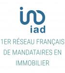 logo Iad france / laetitia aubertin
