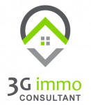 logo Agent commercial 3g immo mathieu joëlle