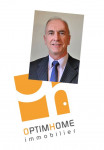 logo Brocard jean-claude agent mandataire optimhome