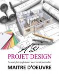 logo A.d projet design