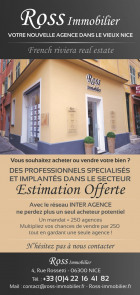 Agence immobilière ROSS IMMOBILIER à Nice