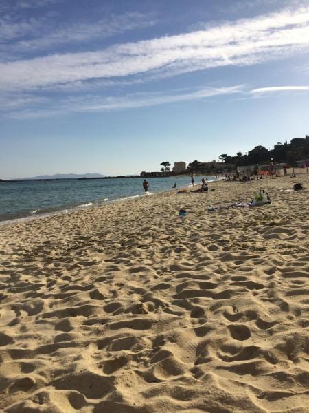 La plage de Saint Clair en octobre