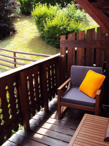 Le balcon côté salon.