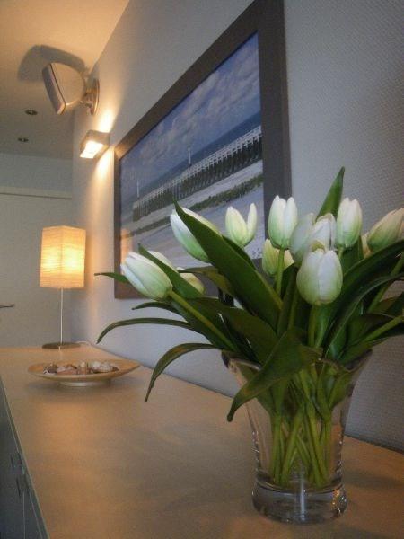 Mooi vakantie appartement aan zee te Nieuwpoort voor 4 pers.